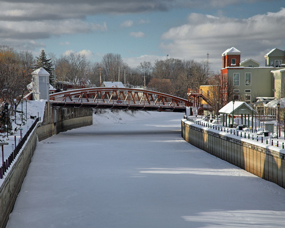 Erie Canal In Winter~Fairport NY~010910: carlcrumley.zenfolio.com/p74251860/h225CED37